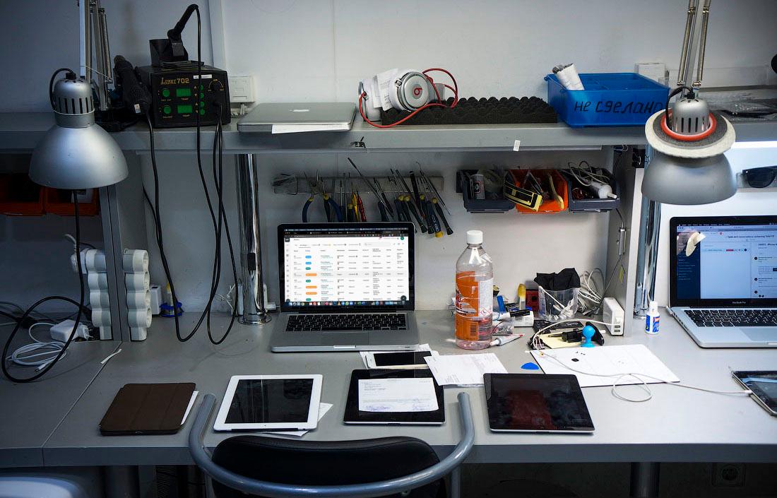 Система для сервисных центров и ремонтных мастерских Service CRM
